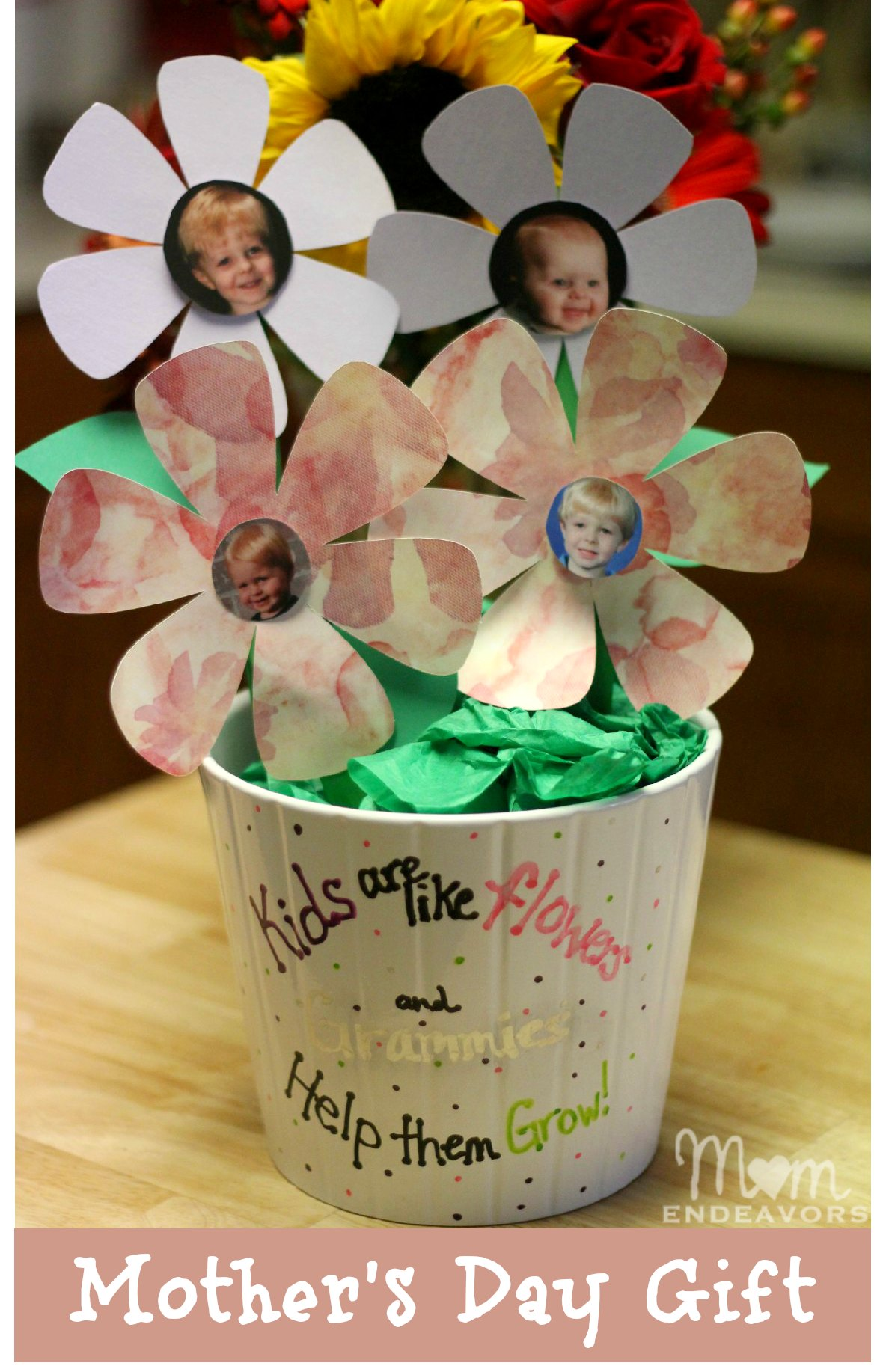Diy Mothers Day Gifts For Grandma Simple Mothers Day Gift Ideas For Grandma Flower Pot