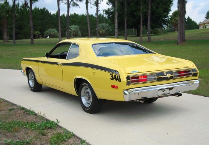 1972 Plymouth Duster - Information and photos - MOMENTcar
