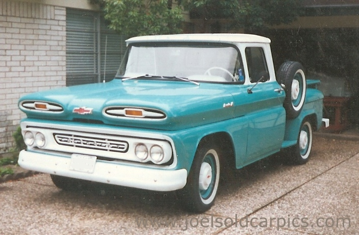 1962 Chevrolet Pickup - Information and photos - MOMENTcar
