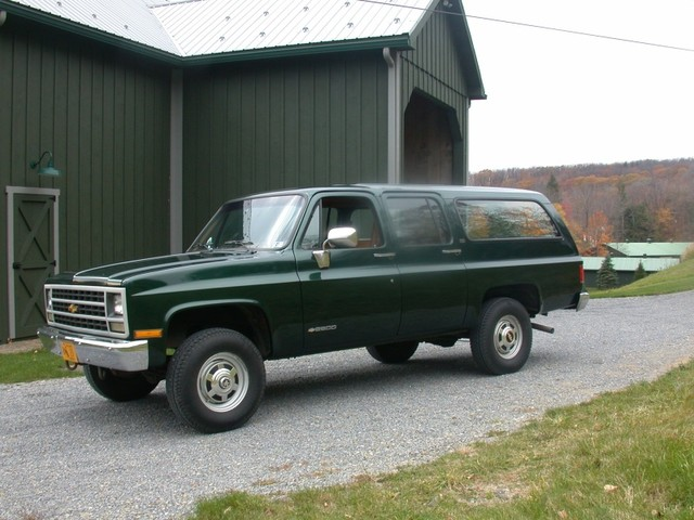 1990 Chevrolet Suburban - Information and photos - MOMENTcar