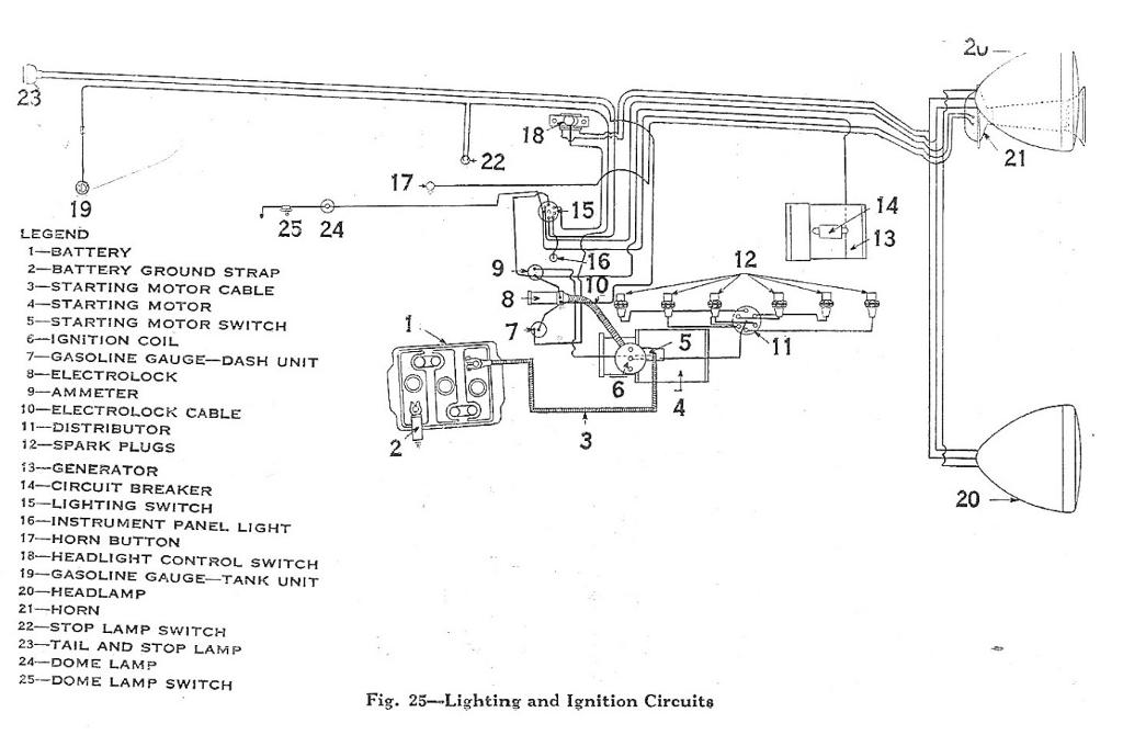 1932 dodge wiring diagram