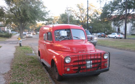 53 Dodge Panel Truck