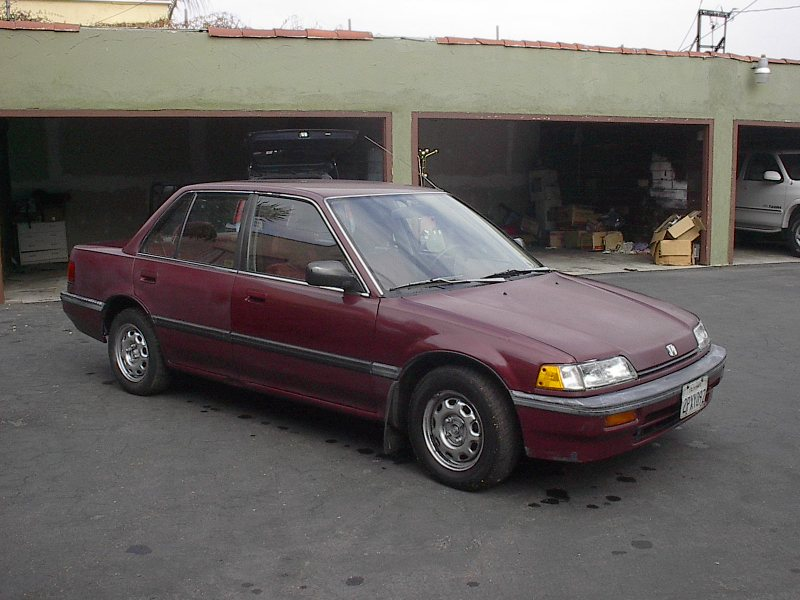 1988 Honda Civic - Information and photos - MOMENTcar