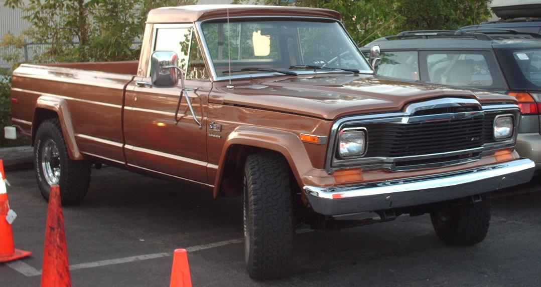 1984 Jeep J20 - Information and photos - MOMENTcar