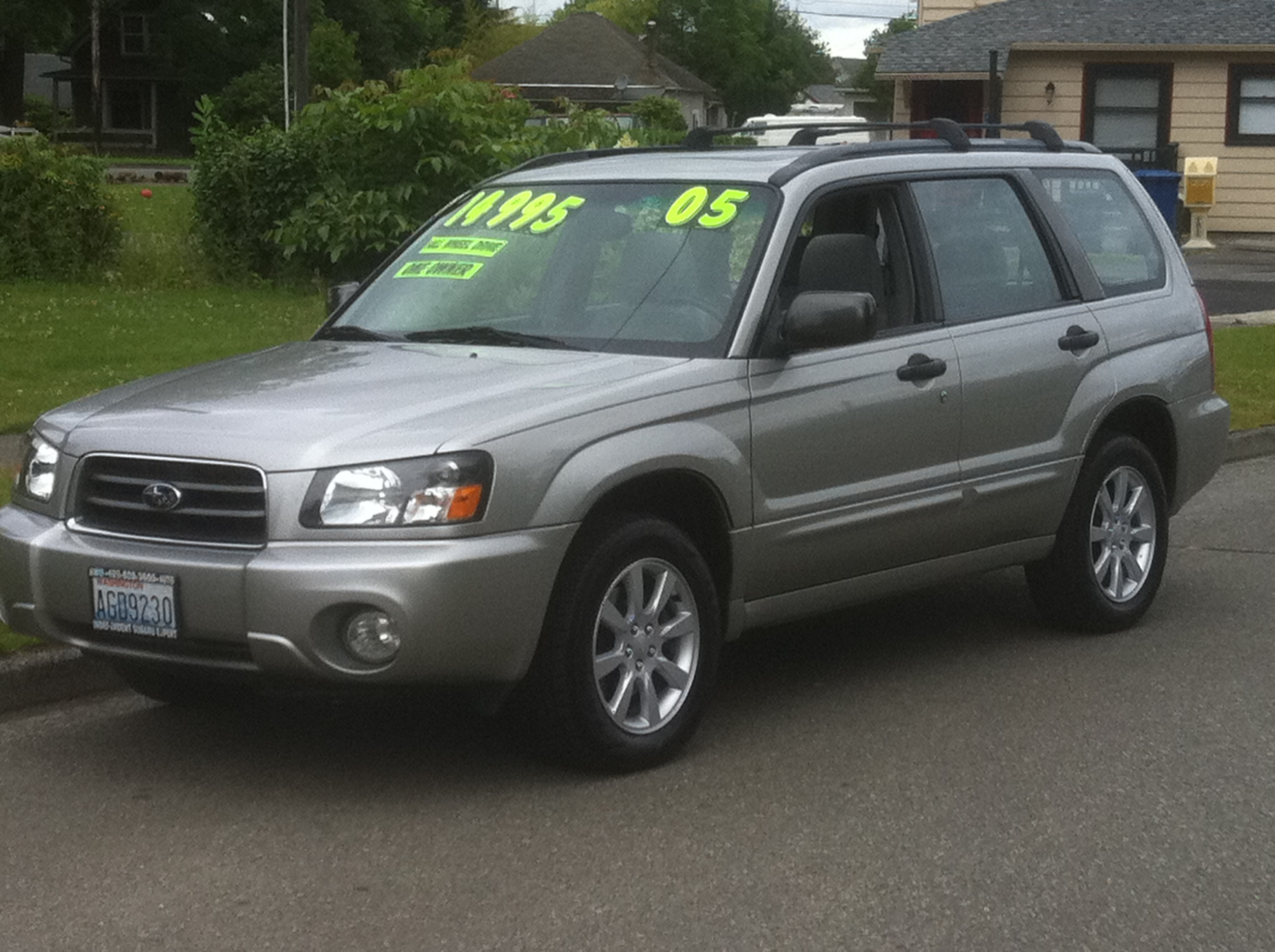 2005 subaru forester owners manual download