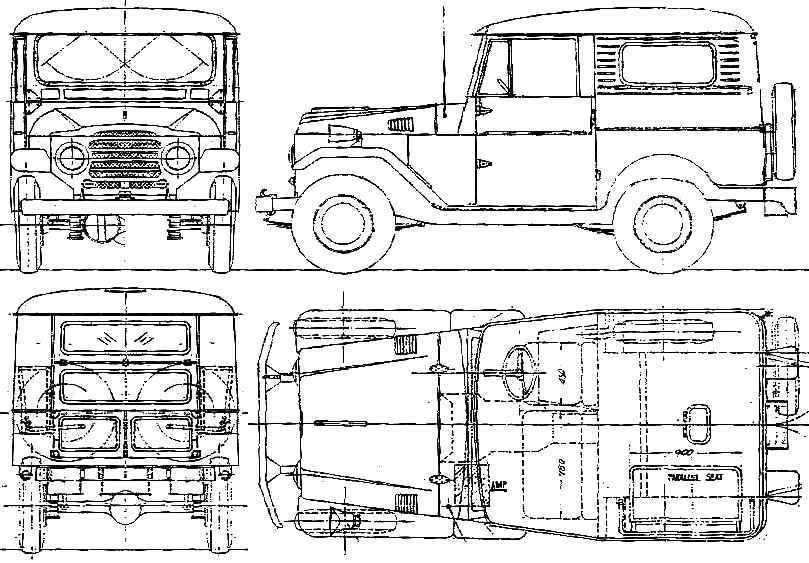 1959 toyota land cruiser