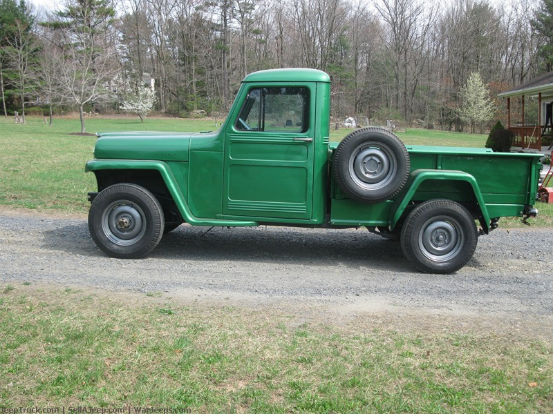 1952 Willys Pickup - Information and photos - MOMENTcar