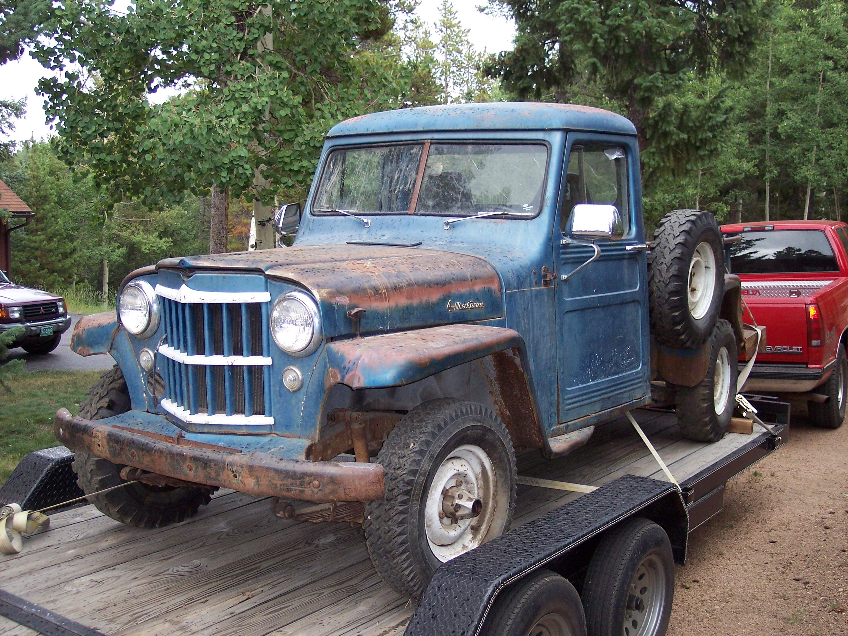 1947 Lincoln Wiring Diagram 1956 Willys Pickup Information And Photos Momentcar