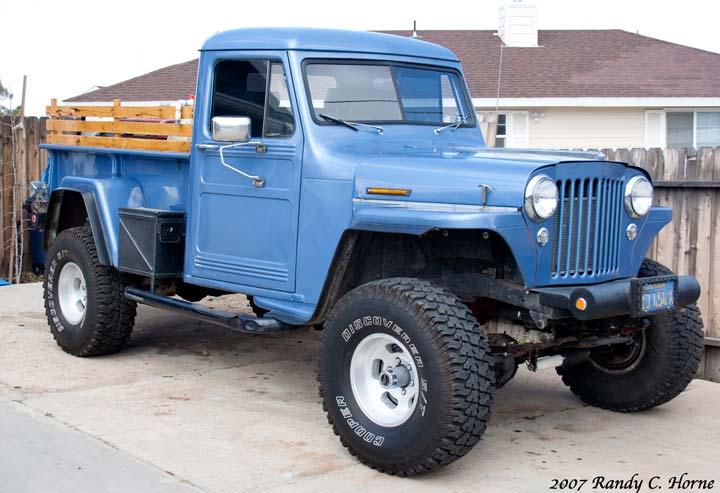 1957 Cars Restored Or Wallpapers Willys Pickup Information And Photos Momentcar