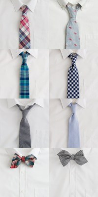 The Ties that Bind. Spring courting and J.Crew prints ...