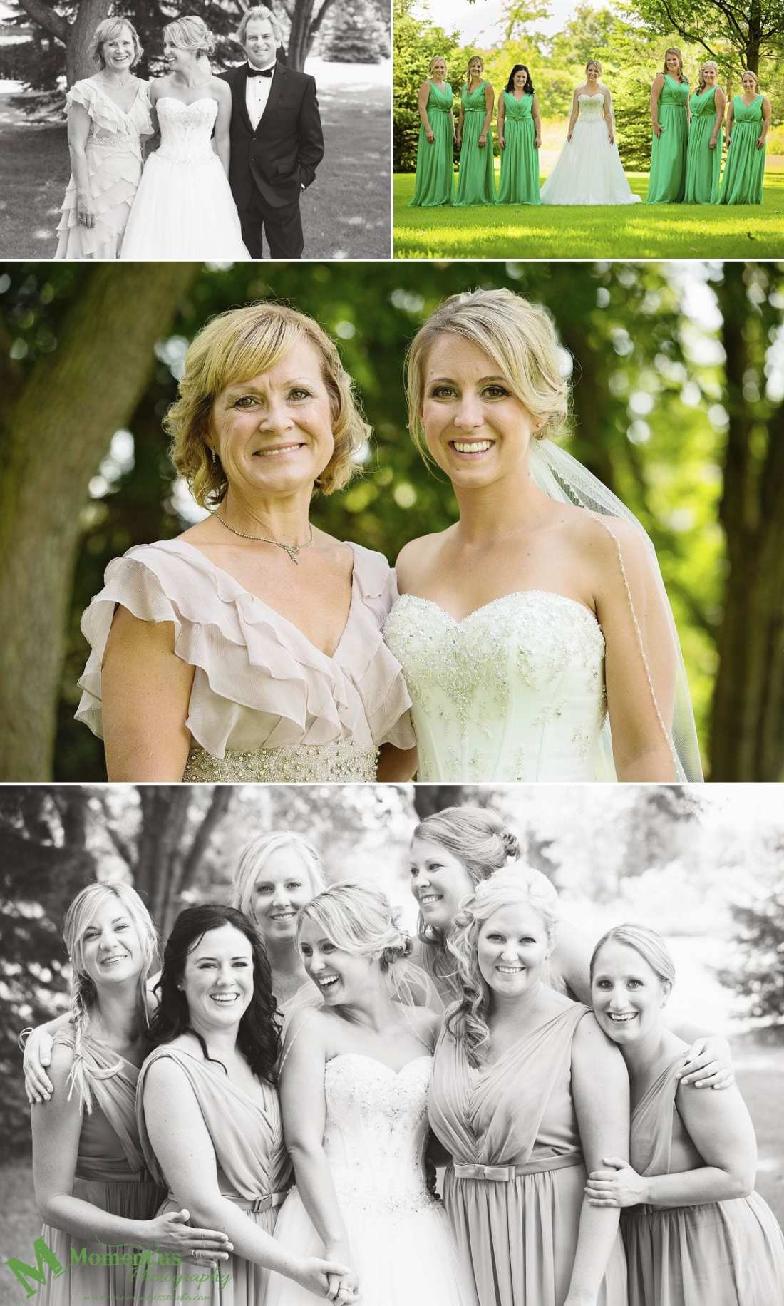 Elegant Cornwall wedding - bride with mother