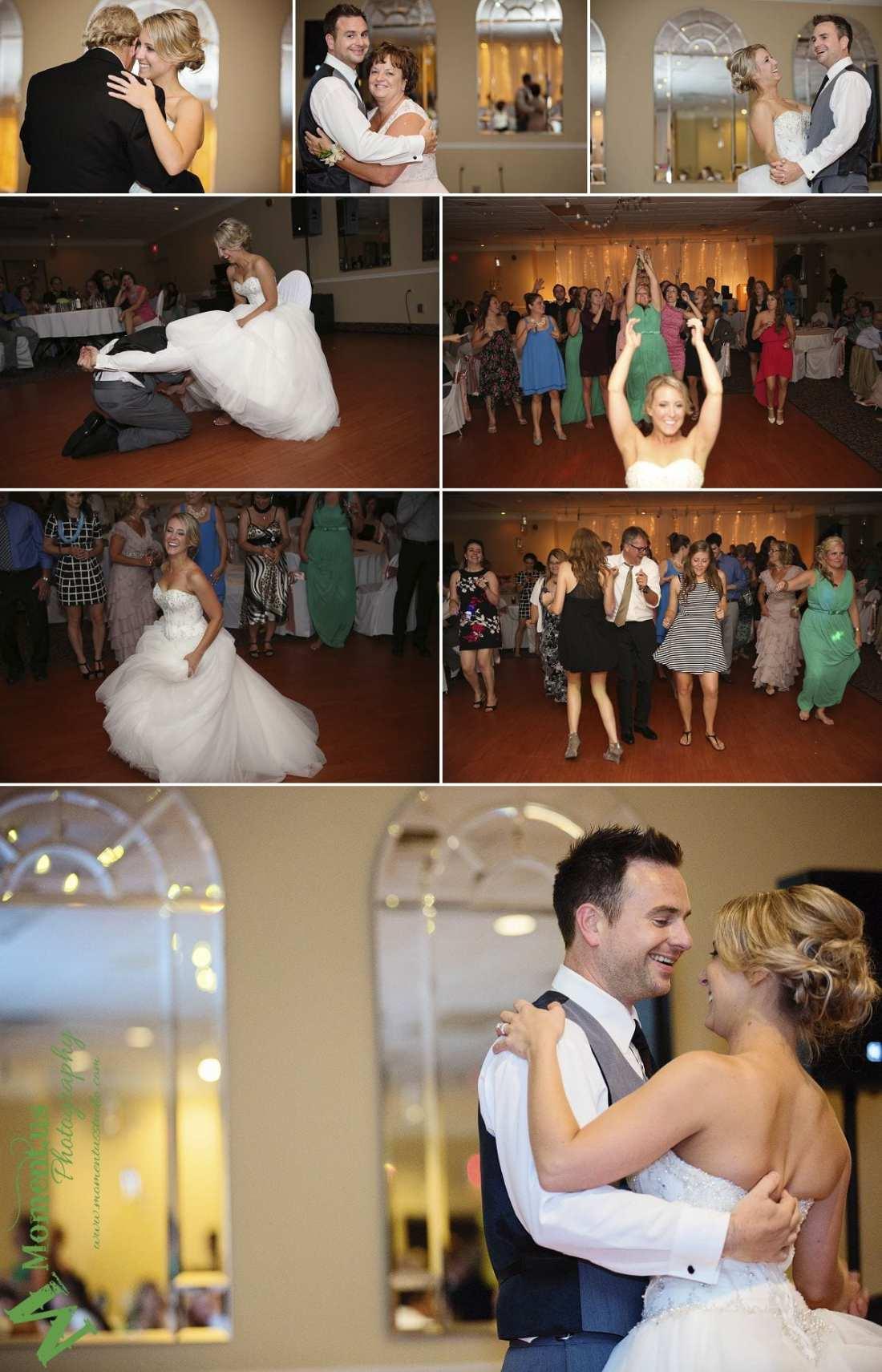 Elegant Cornwall wedding - groom dancing with mother