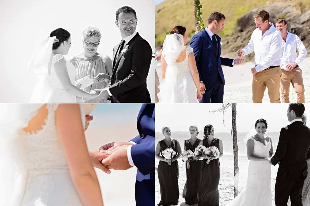International wedding photographer in Cornwall - exchanging rings