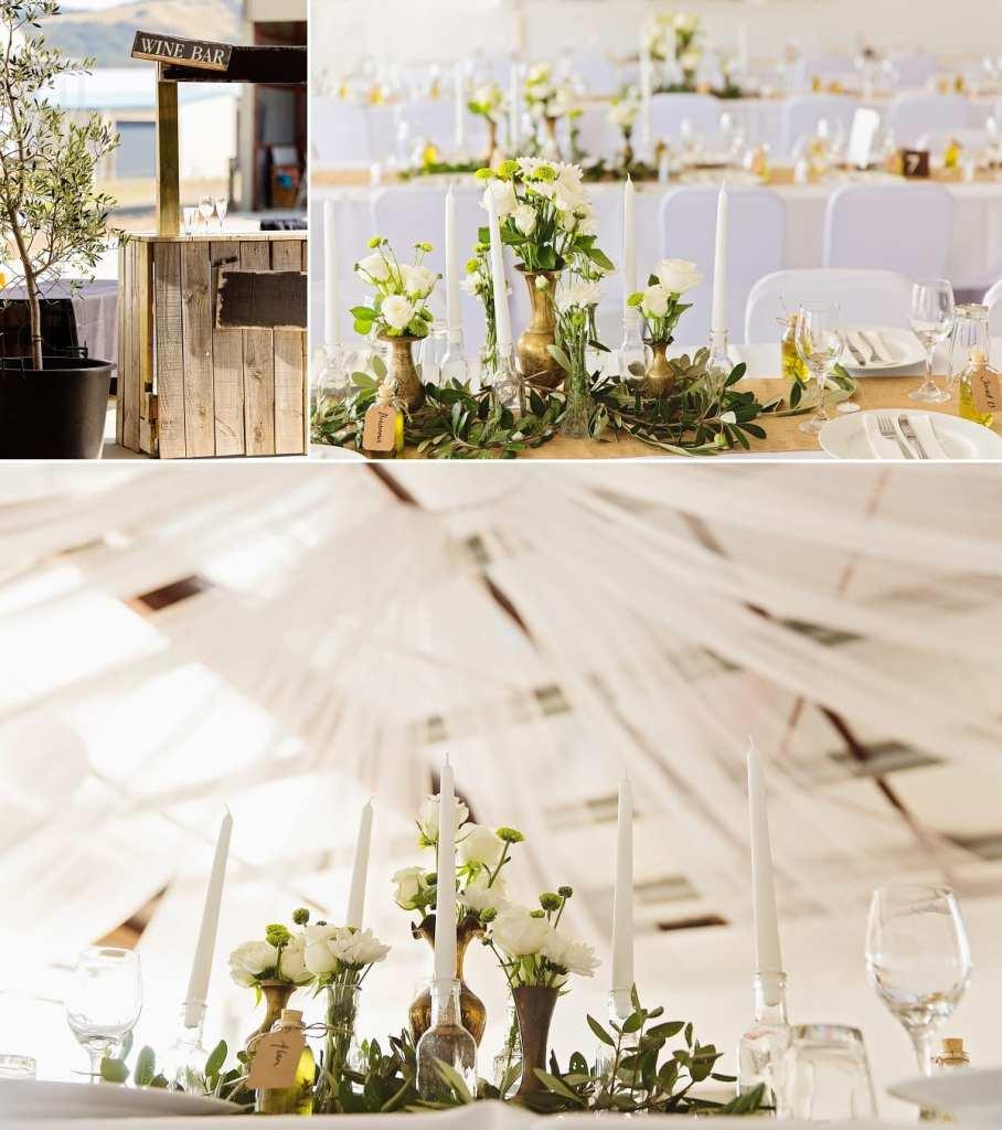 Cornwall international wedding photographer - rustic wine bar