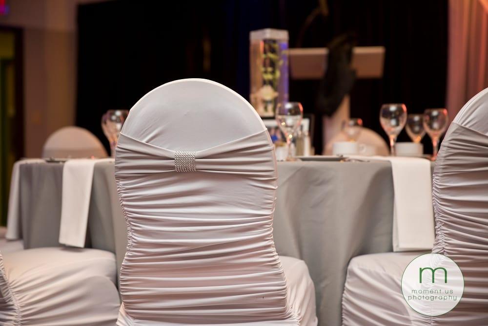 diamanté chair covers
