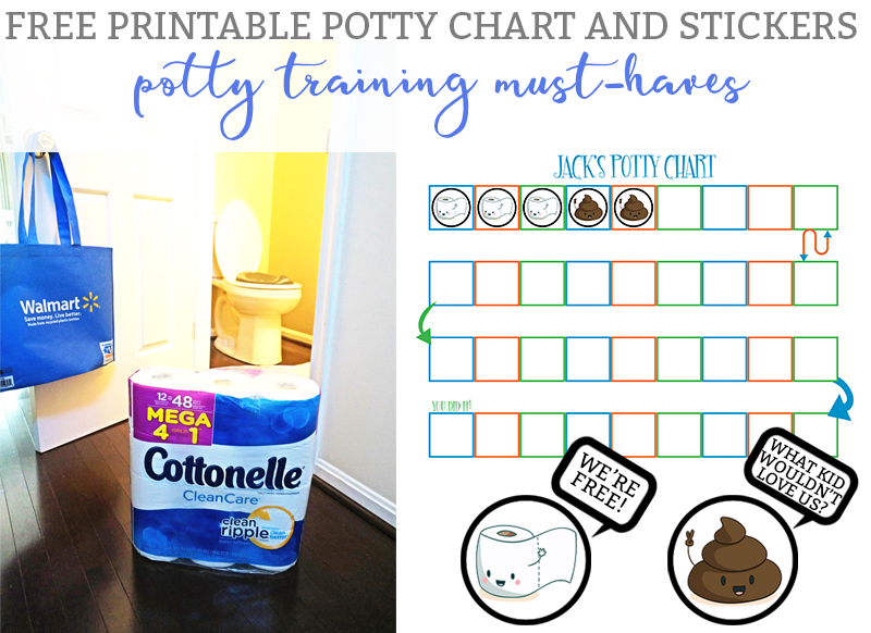 Cottonelle Mega Rolls - A Potty Training Must-Have -  FREE Potty Chart