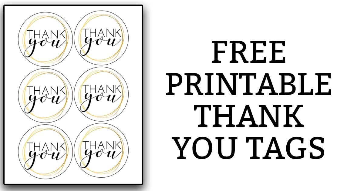 Printable Thank You Tags FB - Mom Envy