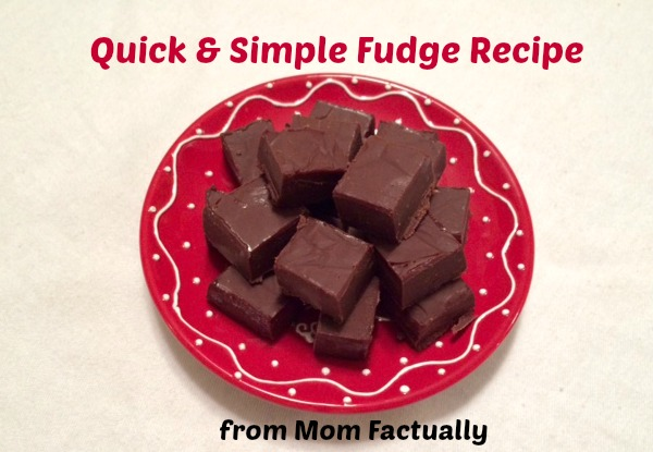 Quick and simple fudge recipe with just 3 ingredients - Between Us ...