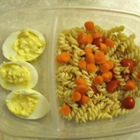 What's for Lunch: Deviled Eggs and Pasta Salad