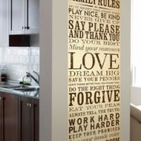 Wall Art to Cover Unfinished Basement Walls
