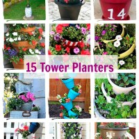 15 Ideas for Tower Planters