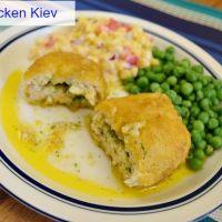 Barber Foods Chicken Kiev (And a Sweet Corn Salad Recipe)