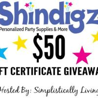 Shindigz $50 Gift Certificate Giveaway