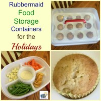Banana Muffins & Rubbermaid Food Storage Containers