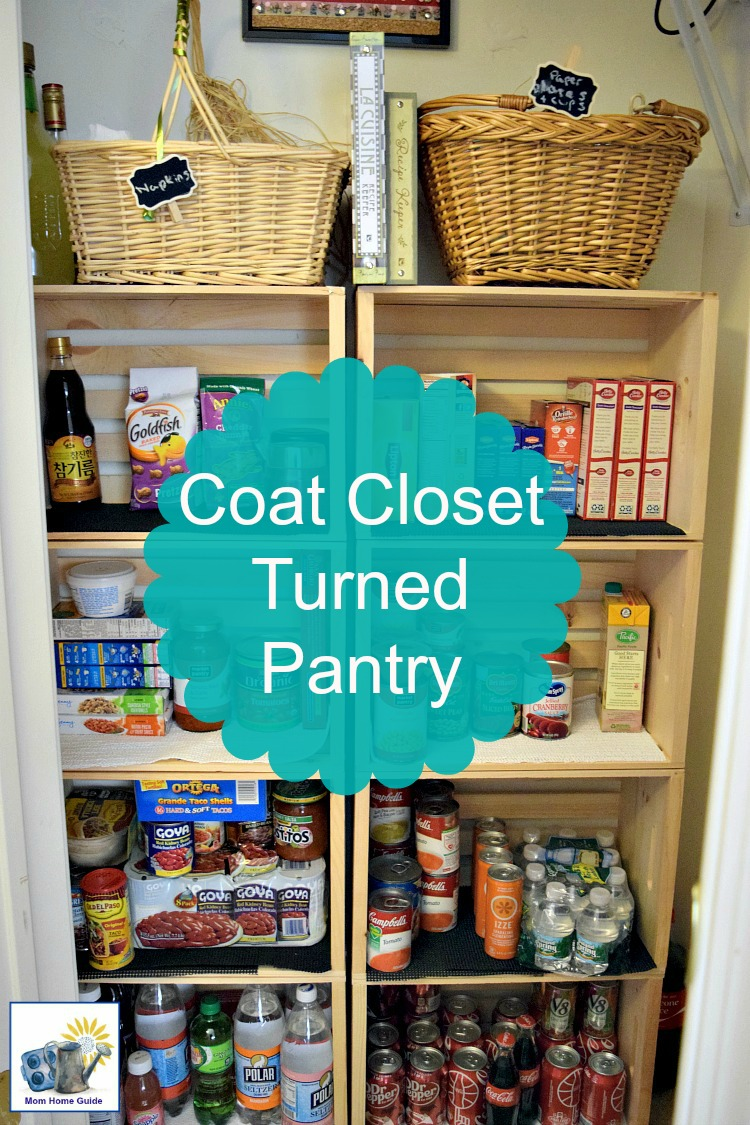 Closet Pantry Coat Closet To Kitchen Pantry Reveal Momhomeguide