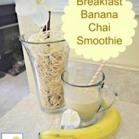Breakfast Banana Chai Smoothie