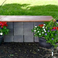 Easy Garden Table & Landscape Lighting {Curb Appeal Blog Hop}