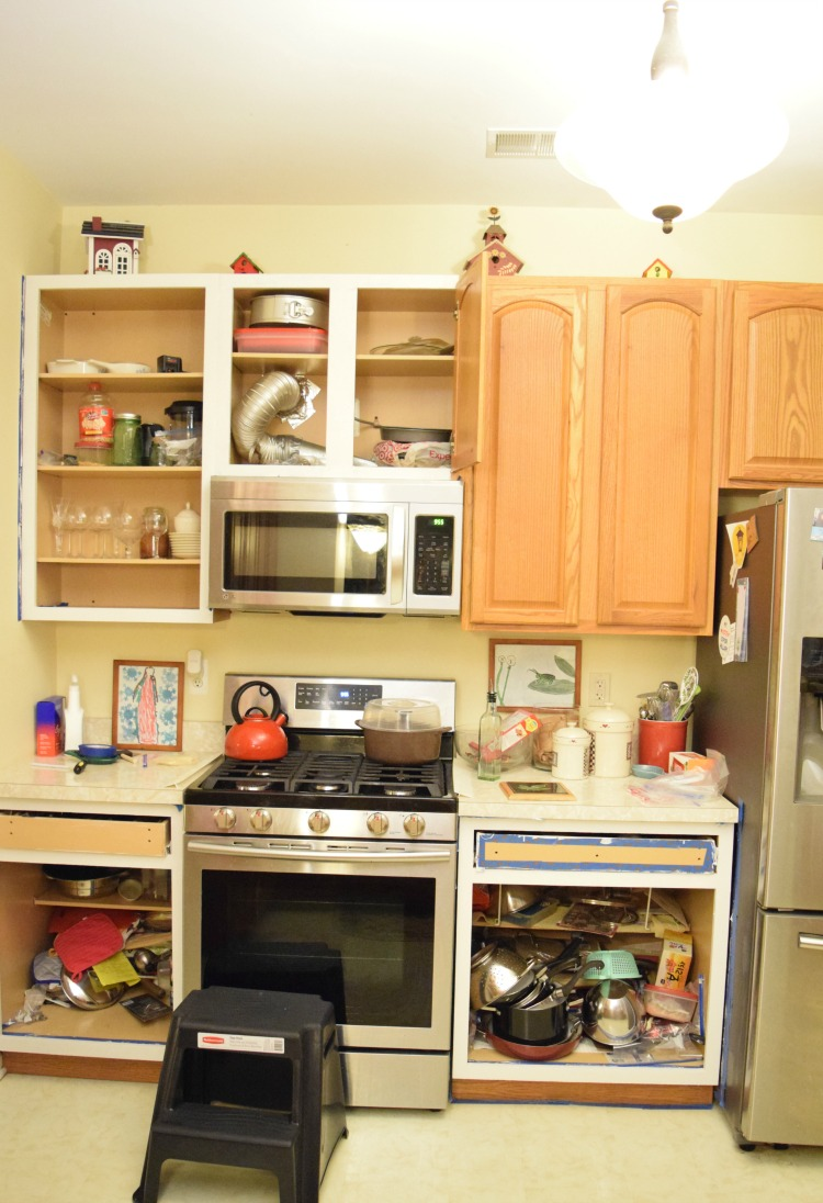 Paint My Kitchen Cabinets My Painted Kitchen Cabinets A Year Later