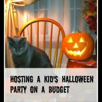 Hosting a Frugal Children's Halloween Party