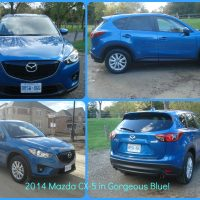 2014 Mazda CX-5- Pretty in Sky Blue!