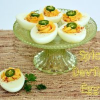 Easy Deviled Eggs Recipe-The Spicy One