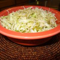 Bread and Butter Pickle Coleslaw