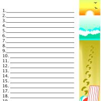 Simply Super Summer-  Plans and Free Printable Summer Bucket List