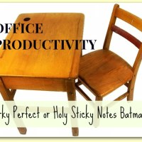 Perky Perfect or Holy Sticky Notes Batman!  What Kind of Office Makes You Productive?