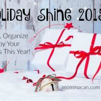 Holiday Shine Challenge 2015 Day One - Part One