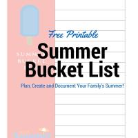 How To Plan Your Summer Bucket List!