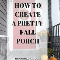 How To Create A Pretty Fall Porch