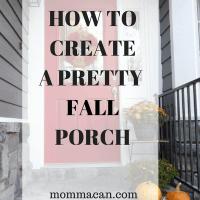 How To Create A Pretty Fall Porch