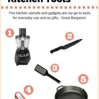 Five Best Bargain Kitchen Tools