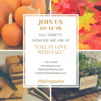 Fall Vignette Showcase Link Party