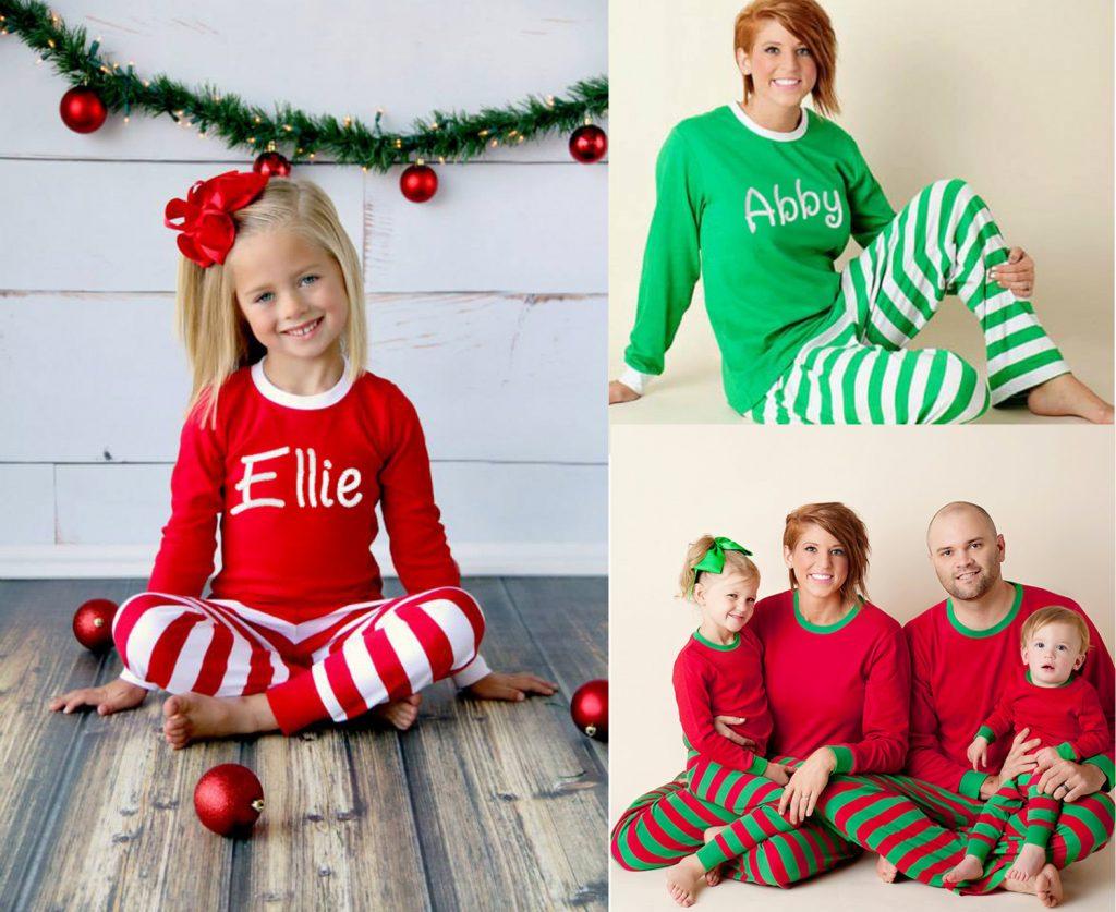 Creative Personalized Pajamas Matching Pajamas Holiday Family Pjs Sleepwear Elf On Shelf Pajamas Amazon Elf On Shelf Pajamas Size 12 baby Elf On The Shelf Pajamas