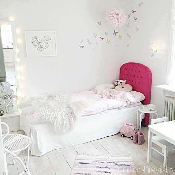 Ikea Furniture 10 Bright And Girly Rooms | Mommo Design
