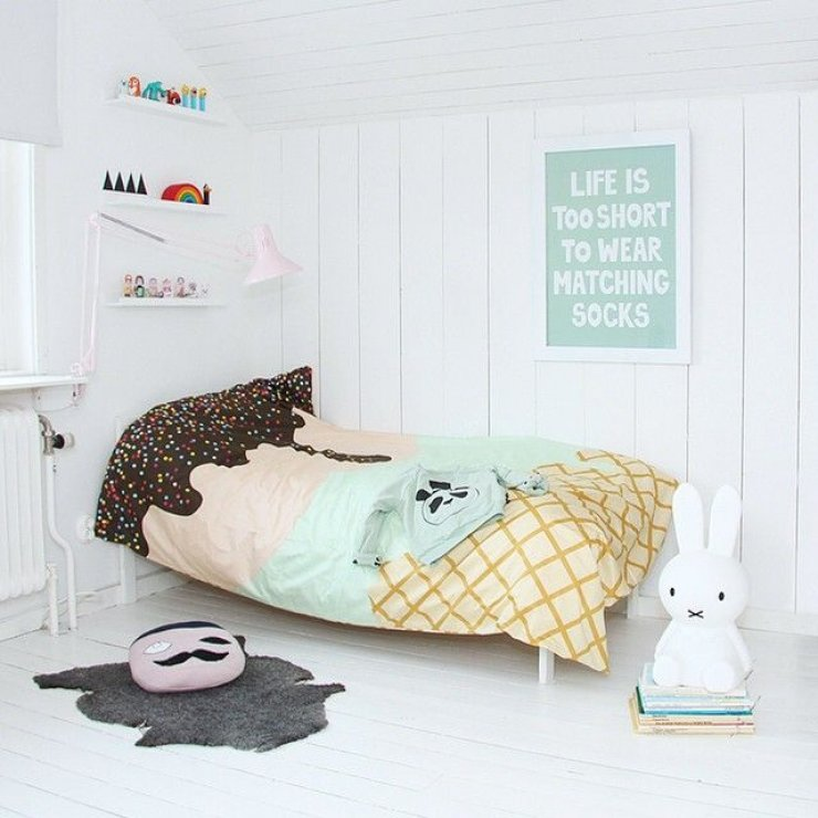 Ikea Boys Room 10 Bright And Girly Rooms | Mommo Design