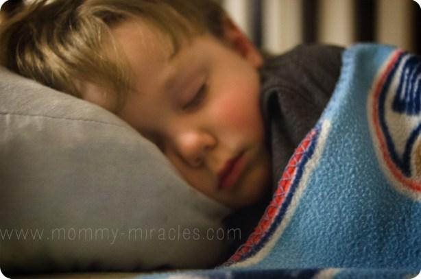 Cameron Sleeping