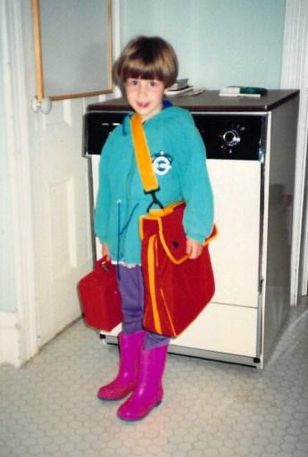 Me, in kindergarten
