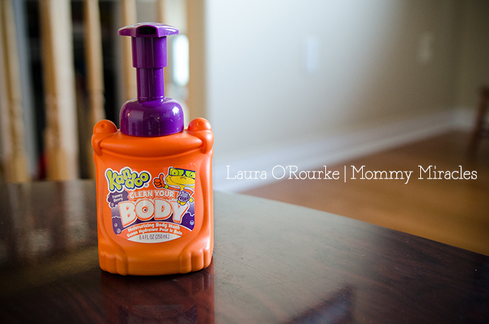 A Kandoo Body Wash Review | Mommy Miracles